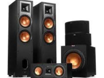 Rent: Klipschorn speakers