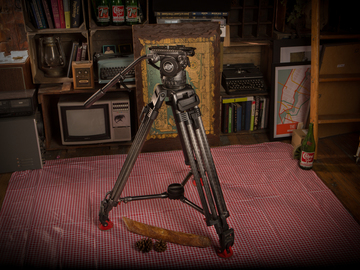 Rent: Sachtler Cine 7+7 with O-Connor 30L legs