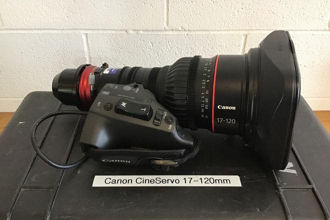 Canon Cine-Servo 17-120mm T2.95 (PL Mount) w/ Zoom Control