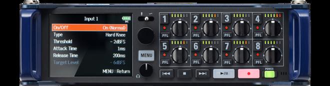 Zoom F8n multi track field recorder