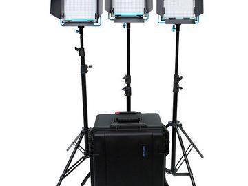 Dracast 3x LED lighting set