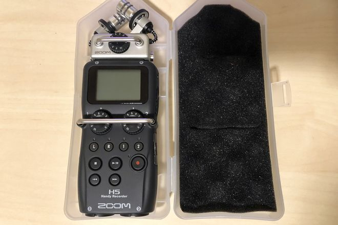 Zoom H5 Recorder w/ Interchangeable Microphone System