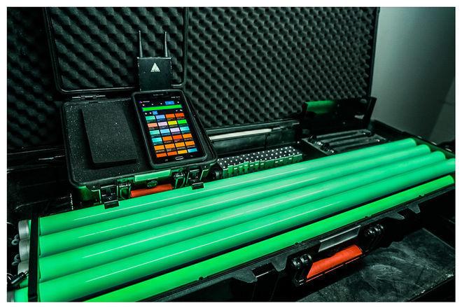 (4) Astera AX1 Pixeltube Set + Tablet + CRMX
