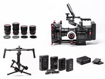RED Raven Dragon 4.5K Package + Lenses + Ronin