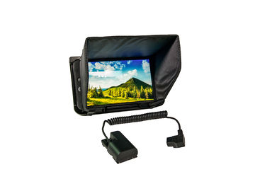 Rent: SmallHD 702 Bright HD  Monitor w/ cage, hood, D-tap adapter