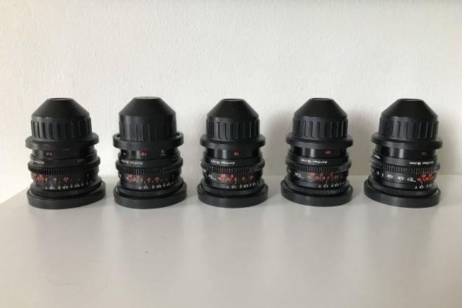 Zeiss Super Speed S16 Mark III Lens Set