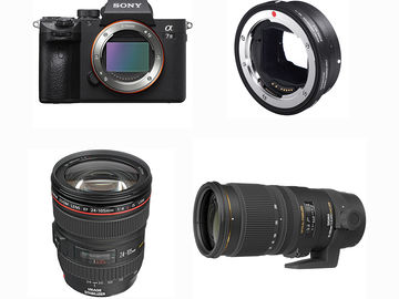 Rent: Sony A7III w/ MC-11, 24-105 & 70-200 Lenses, & Tripod