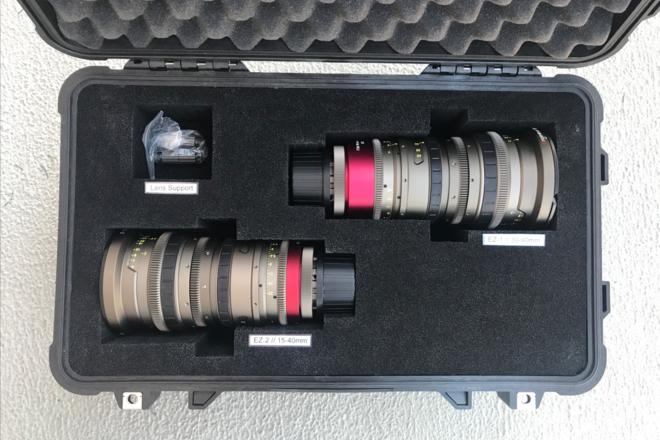 Angenieux EZ Zoom Set • 15-40 + 30-90 • S35 + FF (PL or EF)