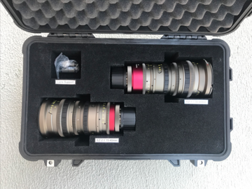 Angenieux EZ Zoom Set   15-40 + 30-90 T2 S35 + FF   PL+ EF