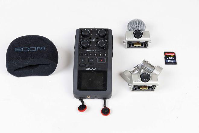 Zoom H6N Kit- Crispy