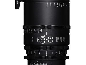 Sigma Cine 50-100mm T2