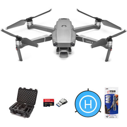 DJI Mavic Pro 2 w/Case + extra Battery