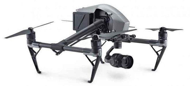 DJI Inspire 2 Quadcopter w/ X7 camera + Pilot Operator