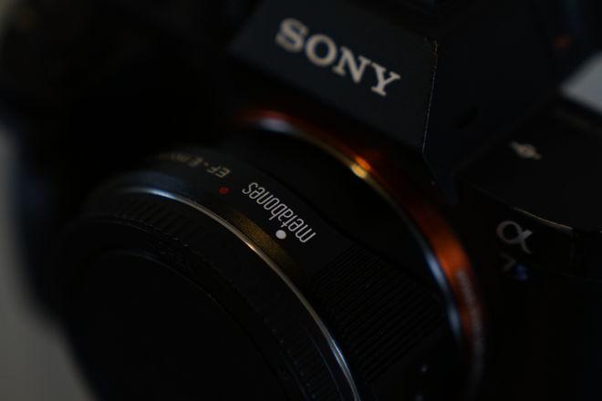 Sony A7sii+ Metabones EF Mount T Smart Metabones