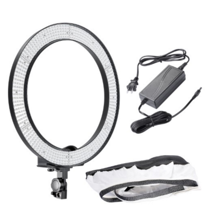 "Neewer 18"" LED dimmable ring light"