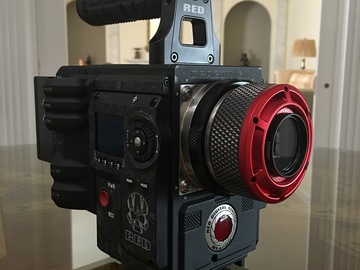 Rent: RED Weapon Forged Carbon Feature Package  (Dragon 6K)