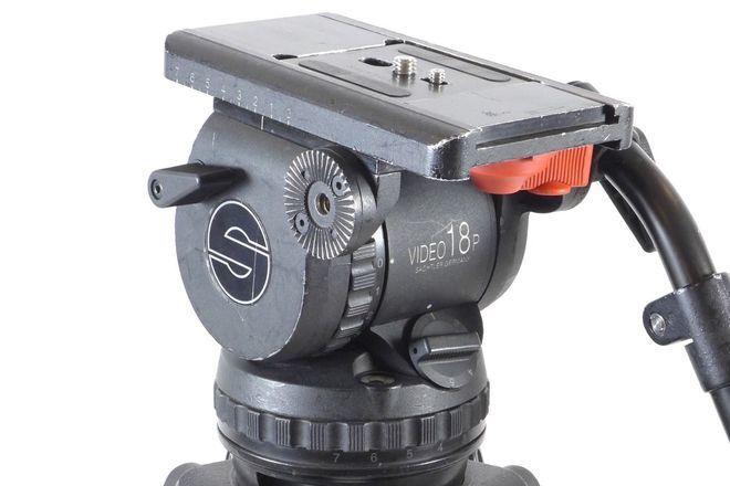 Sachtler 18 P Tripod System Video 18 SB Tripod