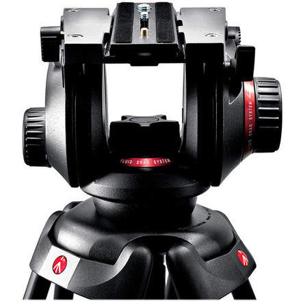 Manfrotto 504HD Fluid Head w/Carbon Fiber Legs