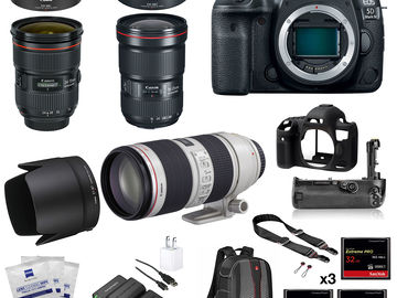 Rent: Canon EOS 5D Mark IV Package with 3 Lenses
