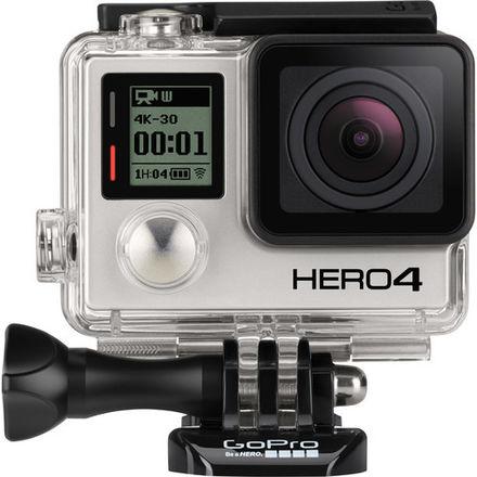 GoPro HERO4 Black Kit + LCD Screen