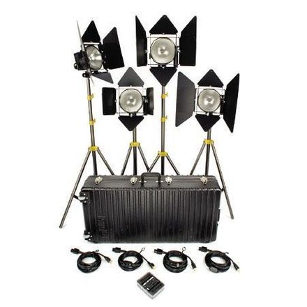 Lowel DP 1000W Open Face Light Kit (4 Lights)