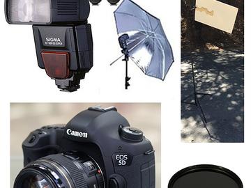 Rent: Headshots SET - Out door - Canon 5DIII + 85mm + flash etc.