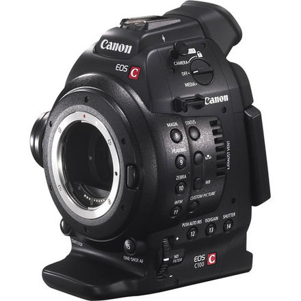Canon C100 with DPAF and Rode NTG2 mic