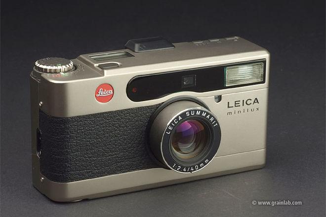 Leica Minilux Summarit 40mm f/2.4 P&S