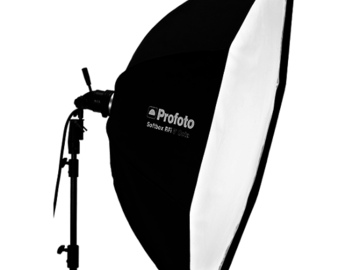 Rent: Profoto softbox RFI 5' octa w/profoto speed ring and c-stand