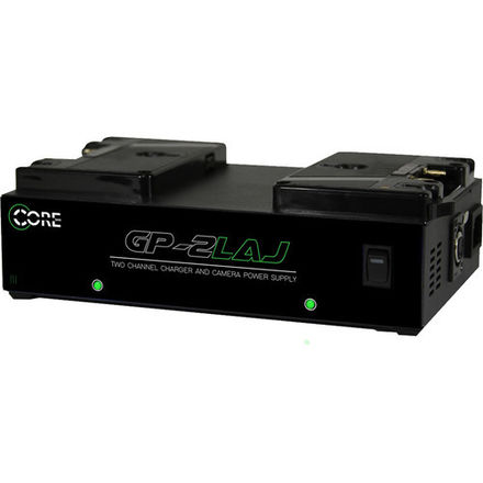 Core SWX GP-2LAJ 2-Bay Gold Mount Simultaneous Charger