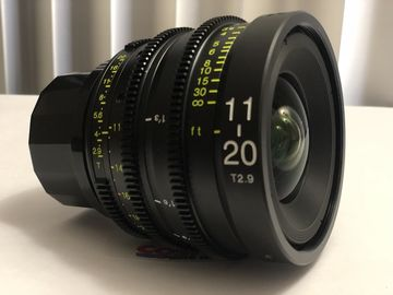Rent: Tokina Cinema ATX 11-20mm T2.9 Zoom Lens & 3 x PRO IRND Filt