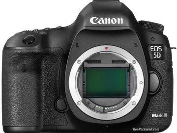 Rent: Canon 5D Mark III RAW Package (Magic Lantern Hack)