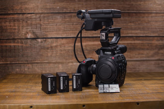 Canon EOS C300 Mark II Camera Package 3x FREE cfast cards