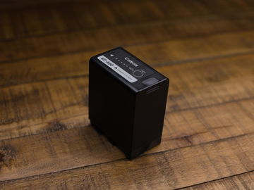 Rent: Big Battery for C300 Mark II camera BP-A60