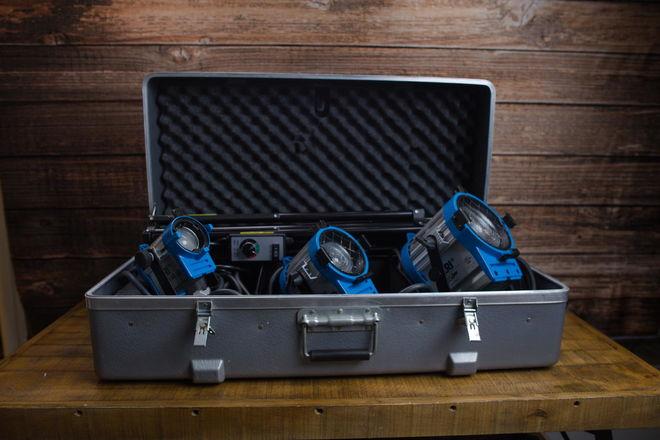 ARRI Tungsten Light Kit 150W, 300W, 650W