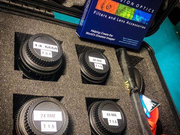 Rokinon Cine DS Lens Set EF Mount 14,24,50,85 + FILTERS