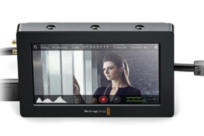 Blackmagic Video Assist 5-in HDMI/6G-SDI Recording Monitor