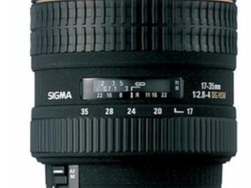 Rent: Sigma 17mm-35mm 2.8-4 Aperture