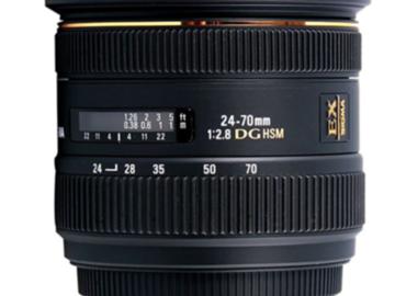 Rent: Sigma Sigma 24-70mm f/2.8 EF Lens