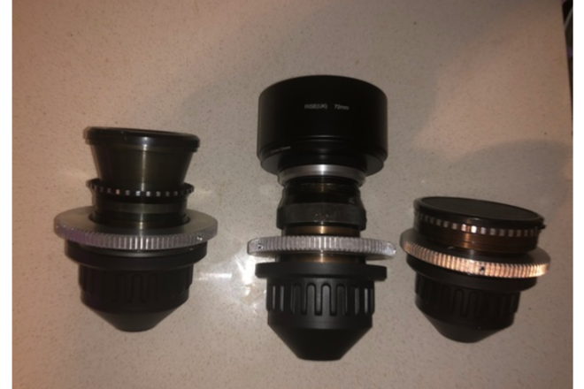 Lomo Spherical Prime Lens Set