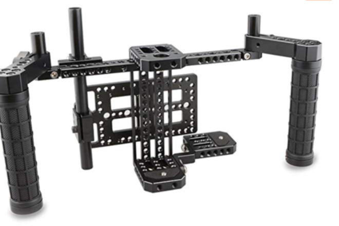 CAMVATE Director's Monitor Cage with Wireless Receivers and