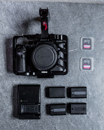 Sony A7S II Camera Body + Metabones Adapter + Cage a7sii