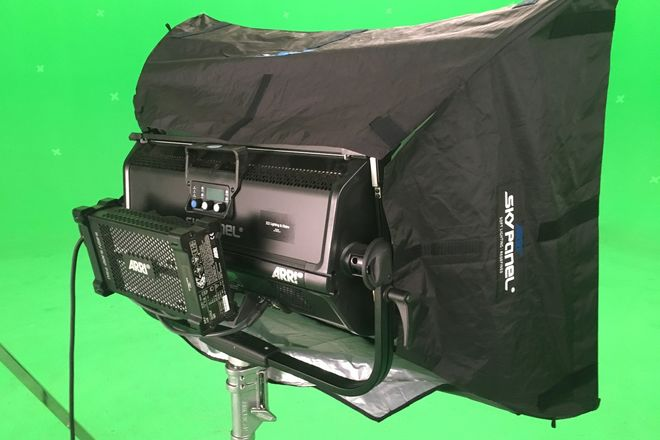 ARRI S60-C SkyPanel Chimera with Speed Ring