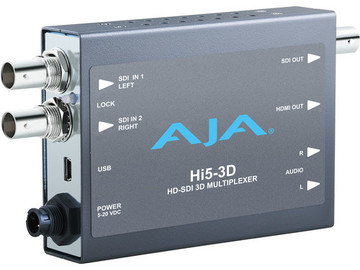 Rent: AJA Hi5-3D Multiplexer Mini Converter