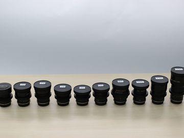 Vintage Canon FD (6) lens set, Cine-Mod, EF mount