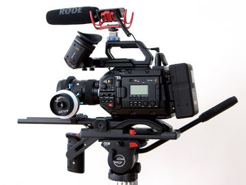 Blackmagic URSA Mini Pro w/ RAWLITE OLPF