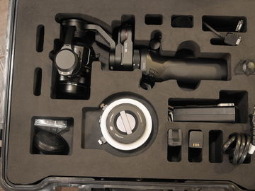 Rent: DJI Osmo with X5 camera kit