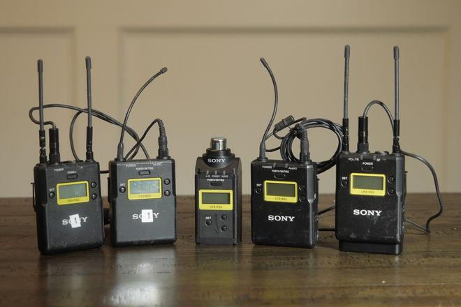 Sony wireless mic kit