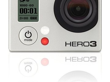 Rent: GoPro Hero 3 (silver) + BacPac GoPro HERO3 LCD Touch + Acc