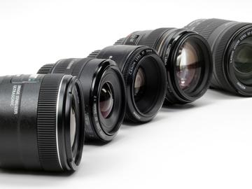 Rent: Canon Prime Lens Kit (4 lenses, 24, 35, 50, 85mm)